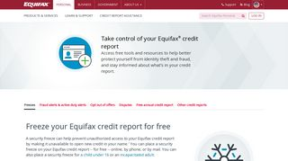 Credit Report Services | Equifax®