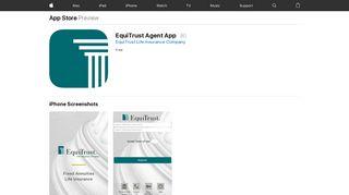 EquiTrust Agent App on the App Store - iTunes - Apple