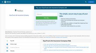 EquiTrust Life Insurance Company: Login, Bill Pay, Customer Service ...