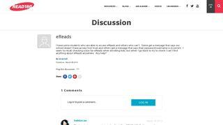 eReads   READ 180 Community