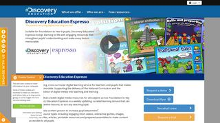 Discovery Education Espresso | Discovery Education UK