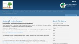 Discovery Education Espresso - Lawley Primary School