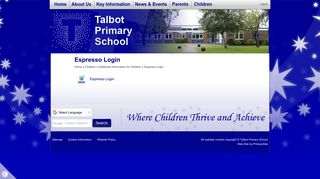 Espresso Login | Talbot Primary School
