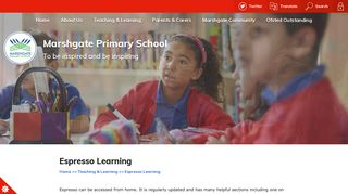 Espresso Learning | Marshgate Primary School