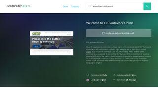 Ecp.autowork-online.co.uk - Deets Feedreader