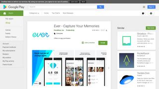 Ever - Capture Your Memories - Apps on Google Play