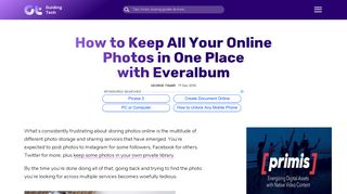 How to Keep All Your Online Photos in Everalbum - Guiding Tech