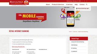 Retail Internet Banking – Everest Bank