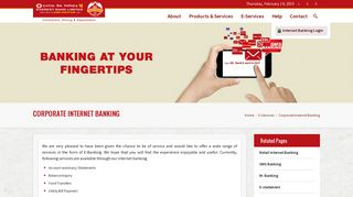 Corporate Internet Banking – Everest Bank