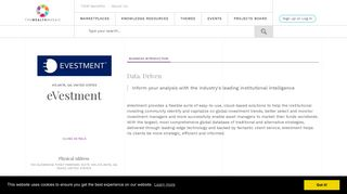 eVestment - The Wealth Mosaic