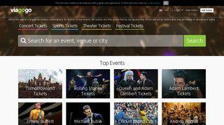 Tickets - Concert, Sport & Theatre Tickets | viagogo the Ticket ...