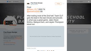 Prep Hoops Georgia on Twitter: