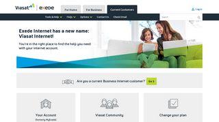 Customer Portal - Viasat - Exede
