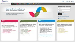 Experian Business Express