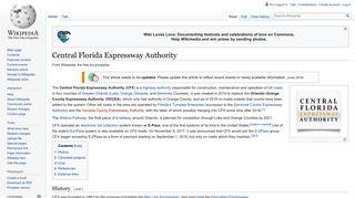 Central Florida Expressway Authority - Wikipedia