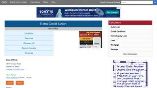 Extra Credit Union - Warren, MI - Credit Unions Online