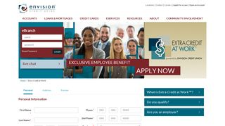 Extra Credit at Work | Envision Credit Union