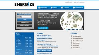 Energize Credit Union - Home