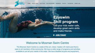 Mosman Swim Centre: Home