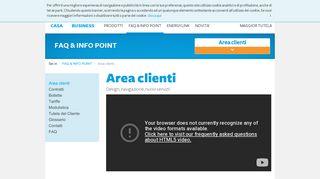 Sportello online - Area Clienti - A2A Energia