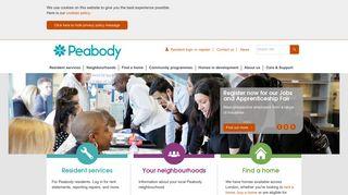 Peabody housing association London   Peabody