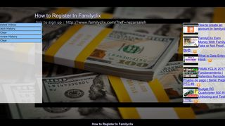 How to Register In Familyclix