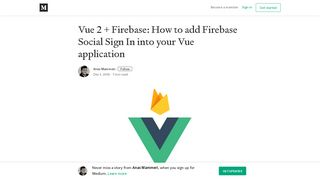 Vue 2 + Firebase: How to add Firebase Social Sign In into your Vue ...