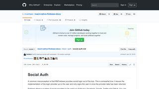 react-native-firebase-docs/social-auth.md at master · invertase/react ...