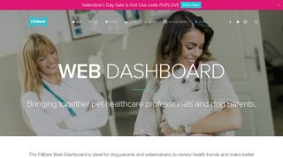 Web Dashboard for Dog Owners & Professionals   FitBark