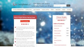 Fitness Singles Review January 2019 - Just Fakes ... - DatingScout.co.uk