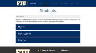 Students - PantherSoft