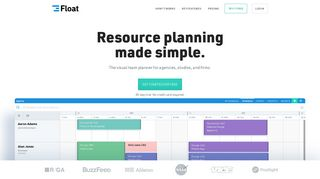 Float - Resource Scheduling App - Employee Team Management ...