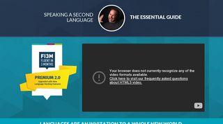 Fluent in 3 Months Premium