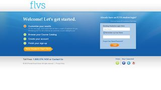 FLVS Sign Up