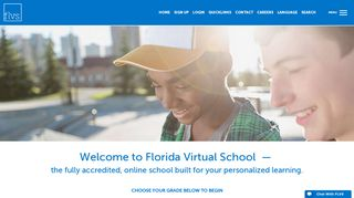 FLVS - Florida Virtual School | Grades K-12 Online