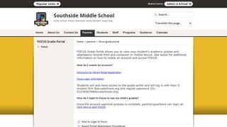 FOCUS Grade Portal - Duval County Public Schools