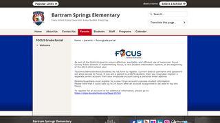 FOCUS Grade Portal / Welcome - Duval County Public Schools