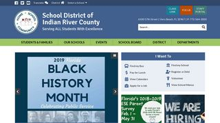 School District of Indian River County: Home