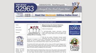 Mixed reviews for School District's FOCUS ... - Vero Beach 32963