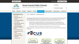 Technology Services / Focus School Software - Duval County Public ...