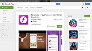 fortunica - Psychic, Love and Tarot Readings - Apps on Google Play