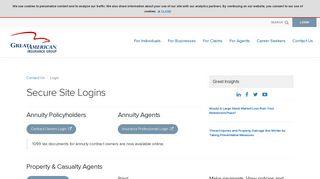 Login - Great American Insurance Group