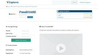 FraudGUARD Reviews and Pricing - 2019 - Capterra