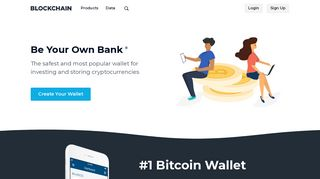 Bitcoin Wallet - Store and Invest in Crypto - Blockchain