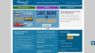 Freedom 1st Credit Union
