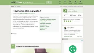 How to Become a Mason: 8 Steps (with Pictures) - wikiHow