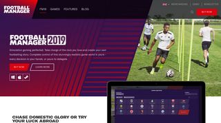 Football Manager 2019 - Football Games - FM19