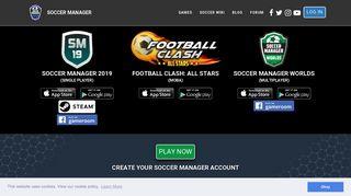 Soccer Manager - Free Soccer Manager game