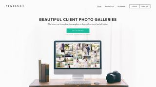Pixieset - Client photo gallery for modern photographers.