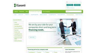Corporate Banking   Garanti Bank